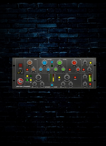 IK Multimedia T-RackS British Channel Solid State Channel Strip (Download)