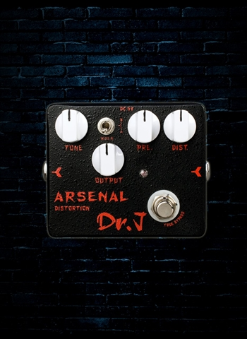 Dr. J Arsenal Distortion Pedal