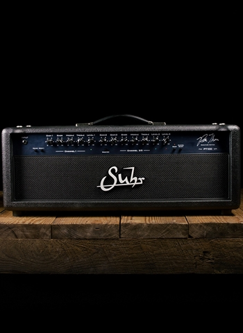 Suhr PT-100 Pete Thorn Signature - 100 Watt Guitar Head - Black