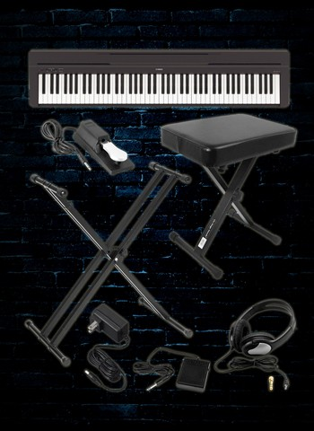 Yamaha P-45 Digital Piano Package B