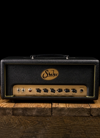 Suhr Badger 35 Head - 35 Watt Guitar Head - Black