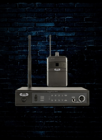 CAD Stagepass IEM Stereo Wireless In Ear Monitor System