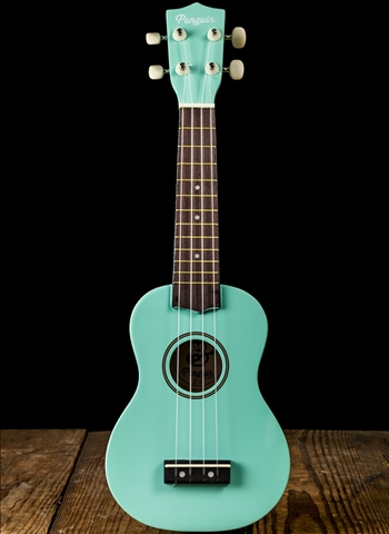 Amahi PGUKLB Penguin Soprano Ukelele - Light Blue
