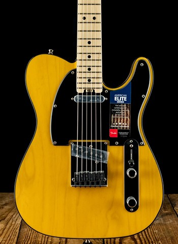 Fender American Elite Telecaster - Butterscotch Blonde
