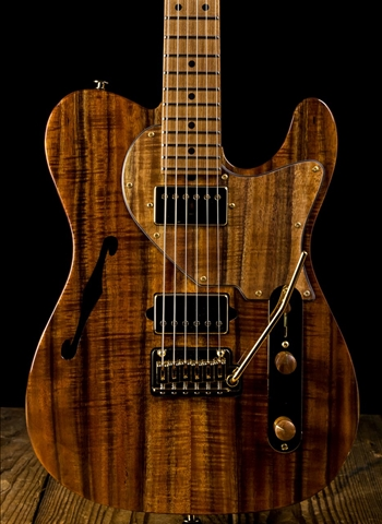 Suhr Custom Classic T Figured Koa/Roasted Alder - Natural