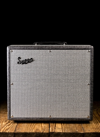 "Supro 1695T Black Magick - 25 Watt 1x12"" Guitar Combo - Black Rhino Hide"