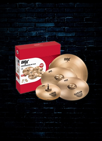 Sabian 45003X - B8X Performance Cymbal Set