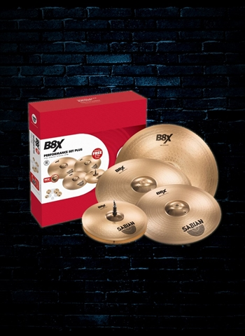 Sabian 45003XG B8X Performance Series Cymbal Set