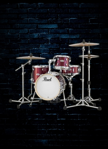 Pearl MDT764P/C - Midtown 4-Piece Drum Set - Black Cherry Glitter