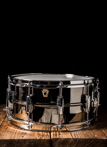 "Ludwig LB417 - 6.5""x14"" Black Beauty Snare"