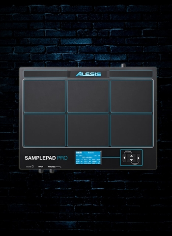 Alesis SamplePad Multi-Pad Percussion Instrument Sampling Pad
