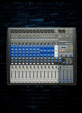 PreSonus StudioLive AR16 USB - 18-Channel Hybrid Performance and Recording Mixer