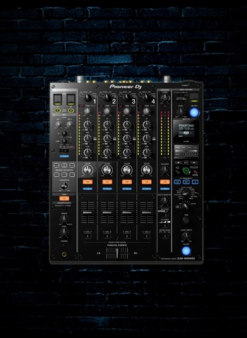 Pioneer DJM-900NXS2 4-Channel Digital Pro-DJ Mixer - Black