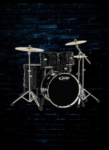 PDP PDCM2215PB - 5-Piece Concept Maple Drum Set - Pearlescent Black