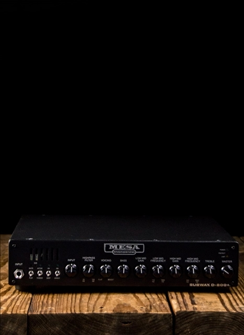 Mesa Boogie Subway D-800+ - 800 Watt Bass Head
