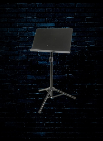 Strukture SCMS2-BK Conductor Style Music Stand - Black