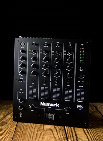 Numark M6 USB - 4-Channel USB DJ Mixer