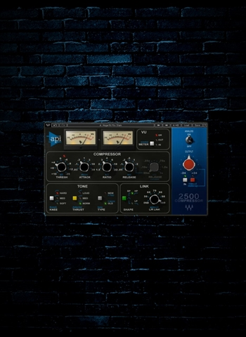 Waves API 2500 Dynamics Processor Plug-In (Download)