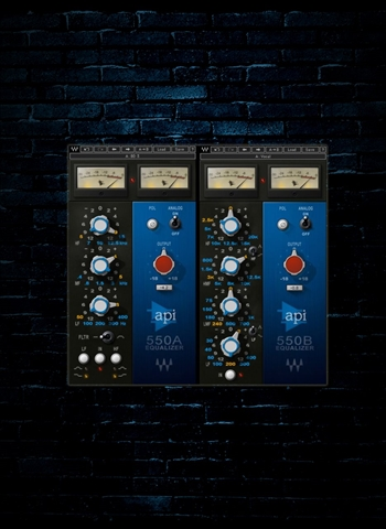 Waves API 550 Equalizer Plug-In (Download)