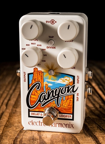Electro-Harmonix Canyon Delay and Looper Pedal