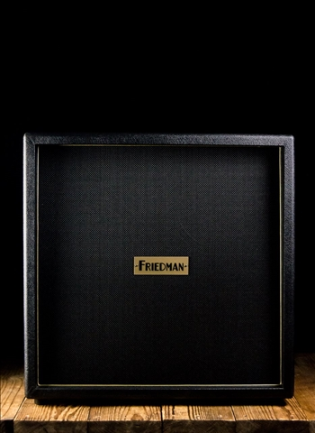 "Friedman 412 - 170 Watt 4x12"" Guitar Cabinet - Black"