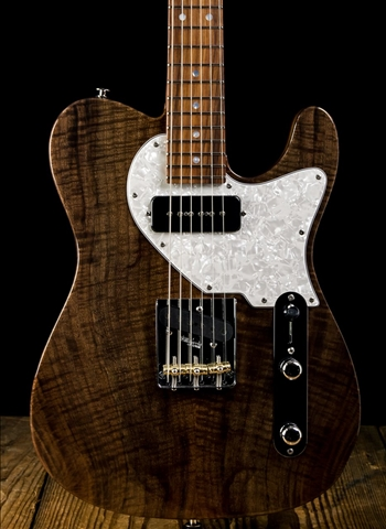 Suhr Custom Classic T Figured Walnut/Mahogany - Natural