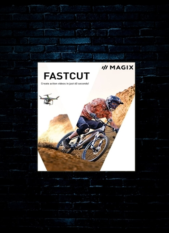 MAGIX Fastcut Action Cam Video Editing Software (Download)