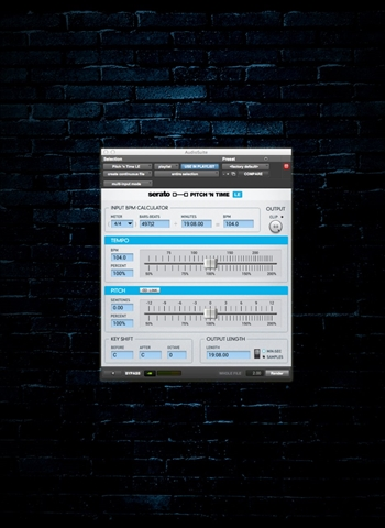 Serato Pitch 'n Time LE 3.0 Software (Download)