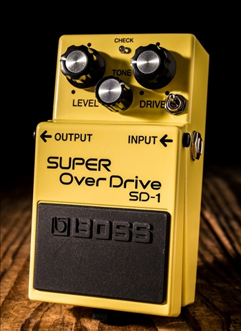 Keeley BOSS SD-1 GE Mod Super OverDrive Pedal