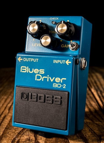 Keeley BOSS BD-2 Phat Mod Blues Driver Pedal