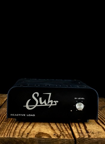 Suhr Reactive Load Box Recording Interface
