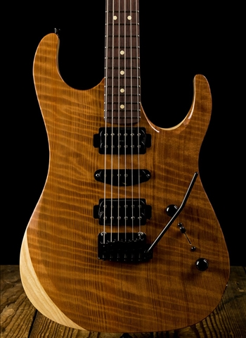 LsL XT3-DX Quilted Rosewood/Swamp Ash - Natural