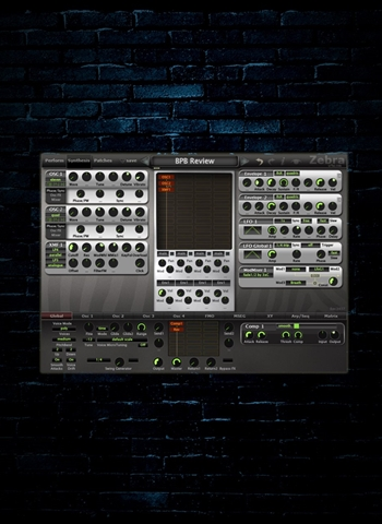 u-he Zebra2 Wireless Modular Synthesizer Plug-In (Download)