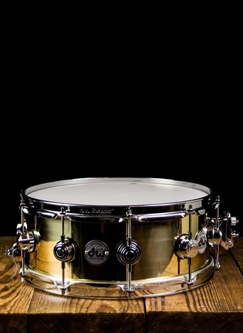 "DW 5.5""x14"" Collector's Series Brass Snare Drum"