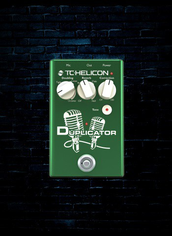 TC Helicon Duplicator Vocal Pedal