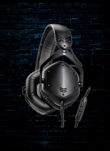 V-Moda Crossfade LP2 Over-Ear Headphones - Matte Black Metal