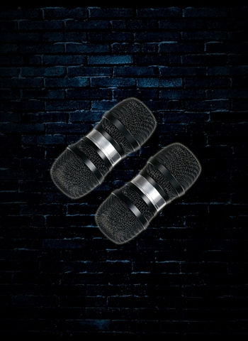 Gon Bops PSHM2 Mic Shakers (Pair) - Black