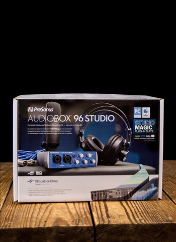 PreSonus AudioBox 96 Studio - Complete Hardware/Software Recording Kit