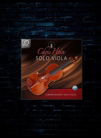 Best Service Chris Hein Solo Viola Plug-In (Download)
