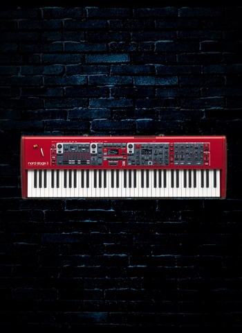 Nord Stage 3 HP76 - 76-Key Hammer Action Portable Keyboard
