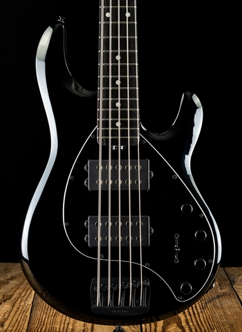Music Man StingRay5 Special HH - Jet Black
