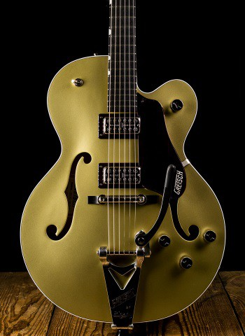 Gretsch G6118T-135 LTD 135th Anniversary - 2-Tone Casino Gold on Dark Cherry Metallic