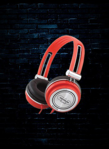 CAD MH100 Closed-Back Studio Headphones - Red