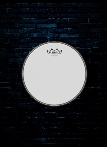 "Remo BA-0212-00 - 12"" Ambassador Smooth White Drumhead"