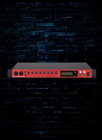 Focusrite Clarett 8Pre USB 18x20 Audio Interface