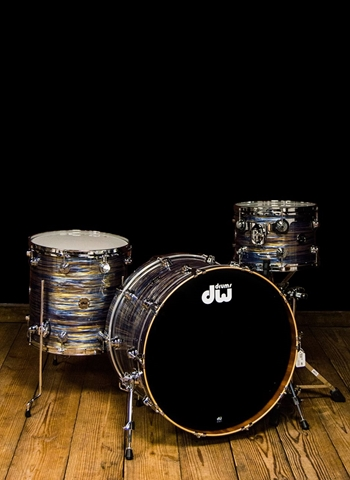 Drum Workshop Contemporary Classic Series 3-Piece Drum Set - Peacock Oyster