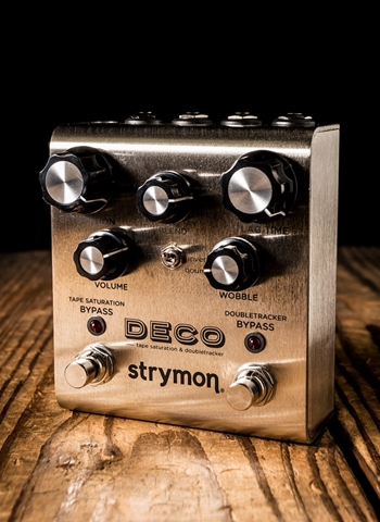 Strymon Deco Tape Saturation and Doubledecker Pedal