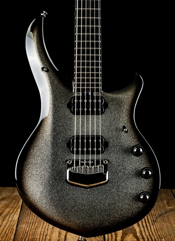 Music Man BFR Majesty - Charred Silver