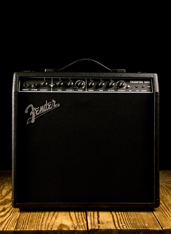 "Fender Champion 50XL - 50 Watt 1x12"" Guitar Combo - Black"
