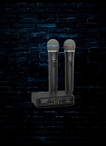 Behringer ULTRALINK ULM302MIC Dual Handheld Mic Digital Wireless System